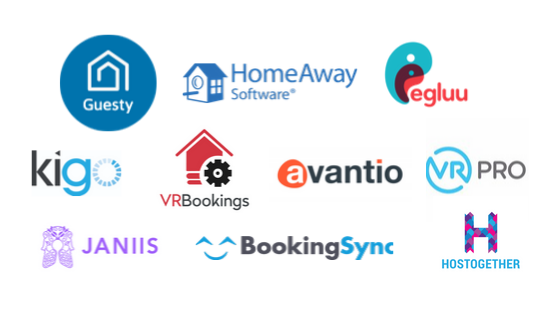 property management system for short term rentals