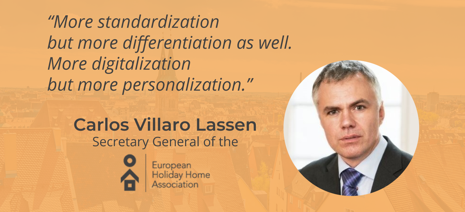 Interview with Carlos Villaro Lassen – Secretary General of EHHA European Holiday Home Association